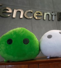 WeChat mascots are displayed inside Tencent office at TIT Creativity Industry Zone in Guangzhou, China May 9, 2017. Picture taken May 9, 2017.     REUTERS/Bobby Yip