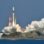 An H-2A rocket carrying an intelligence-gathering satellite successfully takes off from the Tanegashima Space Center in Kagoshima Prefecture, Japan in this photo taken by Kyodo February 27, 2018. Mandatory credit Kyodo/via REUTERS ATTENTION EDITORS - THIS IMAGE WAS PROVIDED BY A THIRD PARTY. MANDATORY CREDIT. JAPAN OUT. NO COMMERCIAL OR EDITORIAL SALES IN JAPAN.
