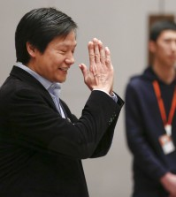 Lei Jun, founder and CEO of China's mobile company Xiaomi gestures as he attends a press conference during the period of Chinese People's Political Consultative Conference (CPPCC) and National People's Congress (NPC) in Beijing, China, March 7, 2016. REUTERS/Damir Sagolj