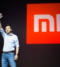 FILE PHOTO - Lei Jun, founder and CEO of China's mobile company Xiaomi gestures during a launch of the company's new products in Beijing, China, September 27, 2016. REUTERS/Stringer/File Photo ATTENTION EDITORS - THIS IMAGE WAS PROVIDED BY A THIRD PARTY. EDITORIAL USE ONLY. CHINA OUT. NO COMMERCIAL OR EDITORIAL SALES IN CHINA.